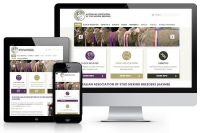 Australian Association of Merino Breeders website